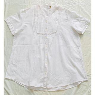 レプシィム(LEPSIM)のLEPSIM ホワイトシャツ(シャツ/ブラウス(半袖/袖なし))
