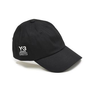 ワイスリー(Y-3)のY-3 ヨウジ ヤマモト ブラックキャップ DAD CAP FH9269 (キャップ)