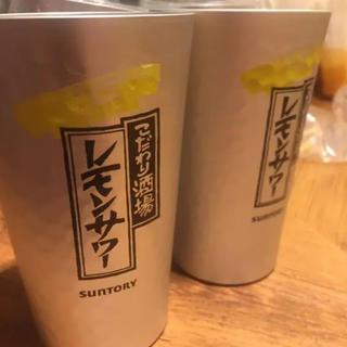サントリー(サントリー)のこだわり酒場のレモンサワー専用グラス 非売品 限定(その他)
