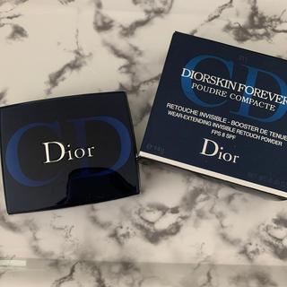 ディオール(Dior)の新品未使用 Dior スキンフォーエバーパウダーコンパクト(フェイスパウダー)