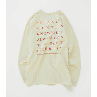 トゥデイフル(TODAYFUL)のTODAYFUL★新品ロンT(Tシャツ(長袖/七分))