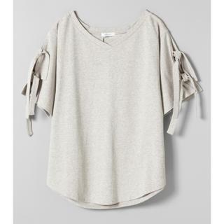 ジーナシス(JEANASIS)のJEANASIS Tシャツ グレー(Tシャツ(半袖/袖なし))