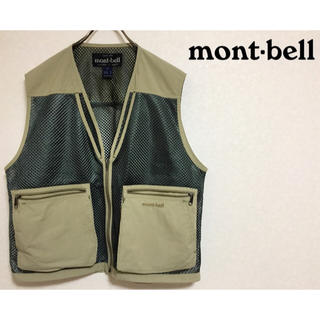 THE NORTH FACE - 【最新流行アイテム】モンベル mont-bell フィッシングベスト