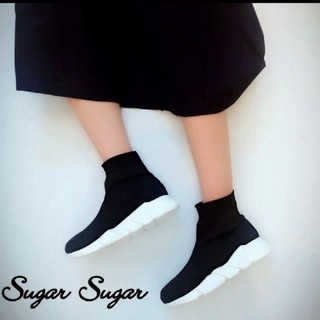 シュガーシュガー(Sugar Sugar)のソックスブーツ 韓国ファッション (ブーツ)