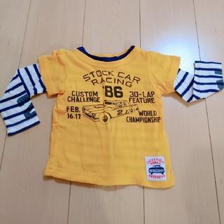 エフオーキッズ(F.O.KIDS)のF.O.KIDS 重ね着、ロンT80センチ(Tシャツ)