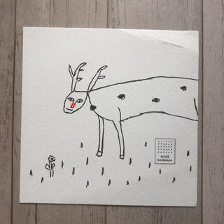 ミナペルホネン(mina perhonen)のミナペルホネン  クリスマスカード ノベルティ(ノベルティグッズ)