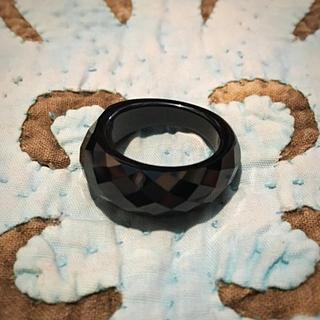 新品  CZ  くり抜きリング(リング(指輪))