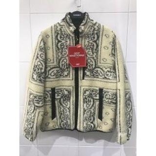 シュプリーム(Supreme)のSupreme Reversible Bandana Fleece Jacket(テーラードジャケット)