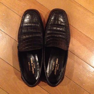コムデギャルソン(COMME des GARCONS)のtricot 型押しローファー(ローファー/革靴)