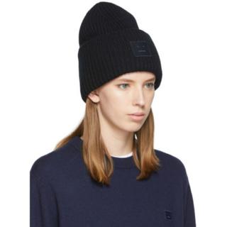 アクネ(ACNE)のACNE STUDIOS オーバーサイズ ニットキャップ帽(ニット帽/ビーニー)