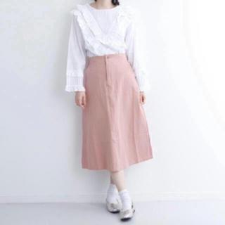 メルロー(merlot)のメルロー バックスリットスカート(ひざ丈スカート)