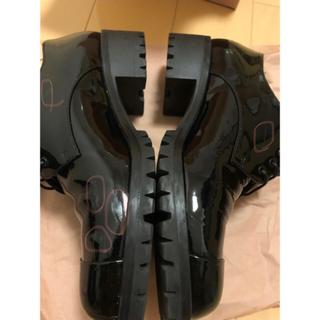 ミュウミュウ(miumiu)のmiumiu オックスフォード エナメル(ローファー/革靴)