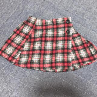 ブリーズ(BREEZE)のBREEZE チェックスカート 90(スカート)