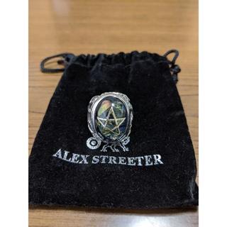 アレックスストリーター クラックブルーエンジェルハートリング (リング(指輪))