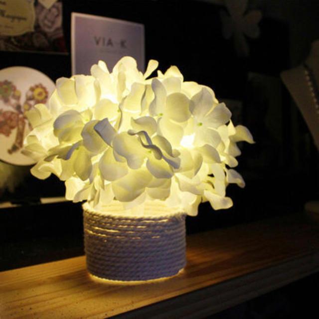 Francfranc(フランフラン)のあじさいモチーフライト インテリア/住まい/日用品のライト/照明/LED(その他)の商品写真