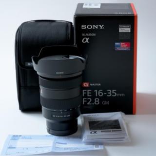 ソニー(SONY)の超美品 ソニー FE 16-35mm F2.8 GM SEL1635GM(レンズ(ズーム))