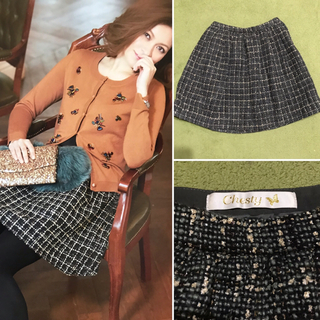 チェスティ(Chesty)のchesty 定価23760円 ツイードスカート(ミニスカート)