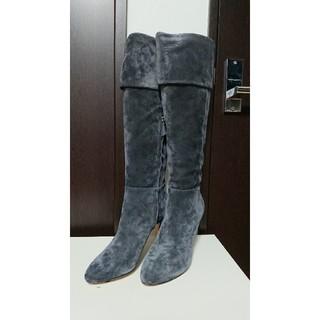 カサディ   CASADEI  スウェードブーツ(ブーツ)