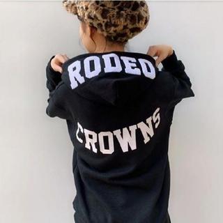 ロデオクラウンズワイドボウル(RODEO CROWNS WIDE BOWL)の完売品✩RODEO CROWNS✩RCWB✩ RPGビッグパーカー  (パーカー)