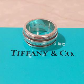 ティファニー(Tiffany & Co.)のティファニー Tiffany グルーブドリング 指輪  メンズ グルーブ リング(リング(指輪))