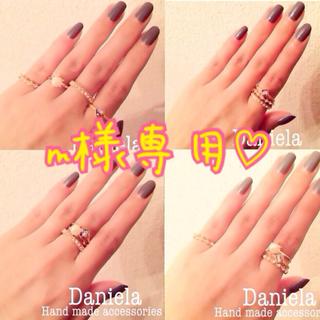 全4種♡スワロフスキー♡リング(リング(指輪))