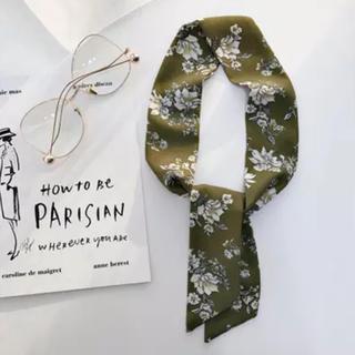 ロキエ(Lochie)のVintage flower scarf No.120(バンダナ/スカーフ)