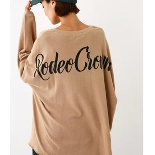 ロデオクラウンズワイドボウル(RODEO CROWNS WIDE BOWL)のRCWB✰スラブジャガードルーズカットトップス(カットソー(長袖/七分))