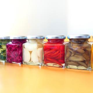有機野菜 無農薬野菜 安心 安全な ピクルス(缶詰/瓶詰)