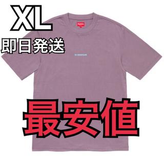 シュプリーム(Supreme)のXL supreme Internationale Top Tee パープル(Tシャツ/カットソー(半袖/袖なし))