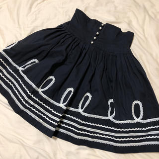 ジェーンマープル(JaneMarple)のjane maple コルセットスカート(ひざ丈スカート)