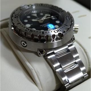 HEIMDALLR ツナ缶 ダイバーズウォッチ セイコーマリーンマスターオマージ(腕時計(アナログ))