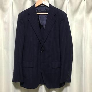 コムサメン(COMME CA MEN)の【美品】コムサメン   スーツ セットアップ 44 ネイビー(セットアップ)