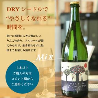 ドライシードル(ミックス)岩手県ワイナリーにて醸造