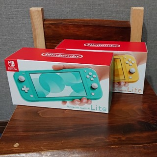 ニンテンドースイッチ(Nintendo Switch)の任天堂Nintendo Switch Lite イエロー ターコイズ 新品未開封(携帯用ゲーム機本体)