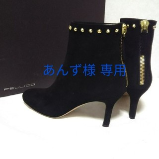 ペリーコ(PELLICO)の【新品】 PELLICO スタッズ ブーツ 35(ブーツ)