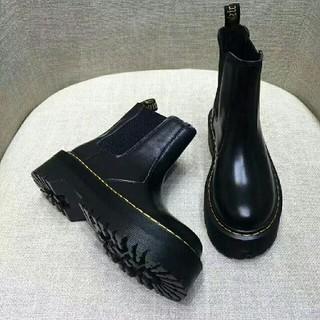 ドクターマーチン(Dr.Martens)のDr. Martens ドクターマーチン 厚底ブーツ 黒 UK5(ブーツ)