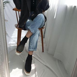 スライ(SLY)のストレッチブーツ(ブーツ)