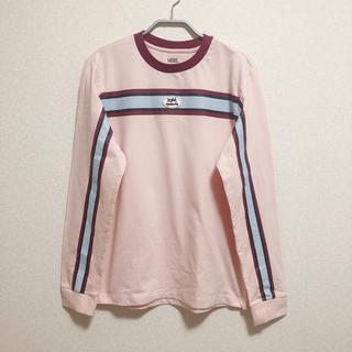 エックスガール(X-girl)のX-girl×mademe×vans LONGSLEEVE TEE(Tシャツ(長袖/七分))
