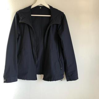 MUJI (無印良品) - 無印 マウンテンパーカー ネイビージャケット