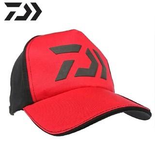 ダイワ(DAIWA)の新品 ダイワ ロゴ キャップ 帽子 レッド ブラック(ウエア)