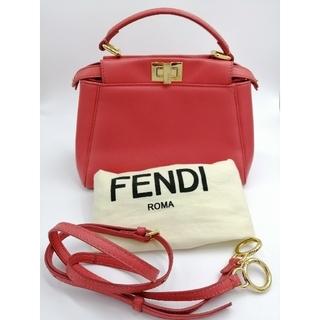 フェンディ(FENDI)の未使用に近い極美品 Fendi ミニピーカブー(ショルダーバッグ)