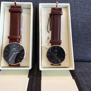 ダニエルウェリントン(Daniel Wellington)のダニエルウェリントン 腕時計 CLASSIC ペアセット ローズゴールド(腕時計(アナログ))