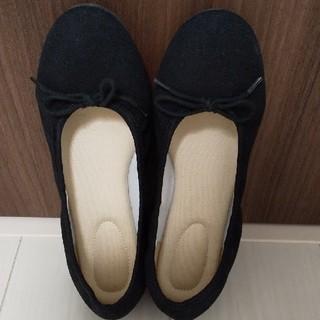 ムジルシリョウヒン(MUJI (無印良品))の無印良品 バレーシューズ Mサイズ 黒(バレエシューズ)