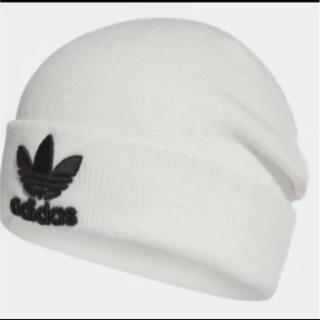 adidas  ニット帽 新品未使用 白