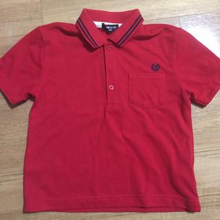 コムサイズム(COMME CA ISM)のポロシャツ コムサ110センチ 赤(Tシャツ/カットソー)