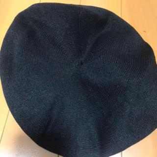 トゥデイフル(TODAYFUL)のTODAYFUL ベレー帽 ブラック(ハンチング/ベレー帽)
