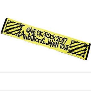 ワンオクロック(ONE OK ROCK)の【美品】ONE OK ROCK マフラータオル(タオル)