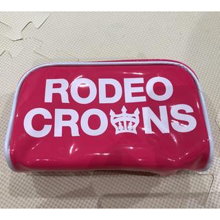 ロデオクラウンズ(RODEO CROWNS)のロデオクラウンズ ピンク色 ポーチ 未使用 美品!(ポーチ)