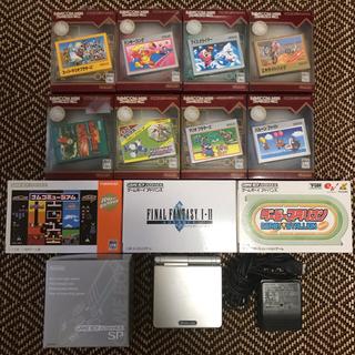 ゲームボーイアドバンス - ゲームボーイアドバンスSP & カセット11本