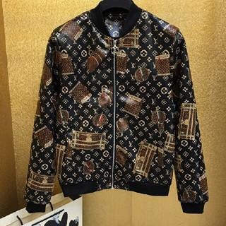 ルイヴィトン(LOUIS VUITTON)のレザージャケット   美品(レザージャケット)